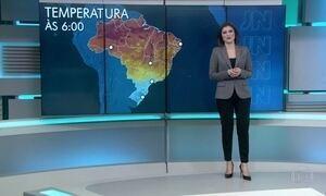 Previsão de frio para o Sul e Sudeste nesta quarta (20)