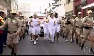 Tocha olímpica continua a percorrer cidades do interior de São Paulo