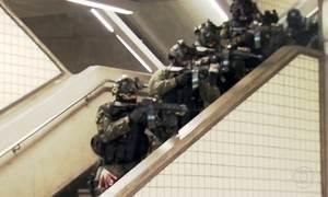 Exército simula combate a ataque terrorista em São Paulo