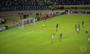 Primeira partida da decisão da Libertadores termina empatada no Equador