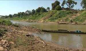 Nível do Rio Acre está muito baixo e governo decreta situação de emergência