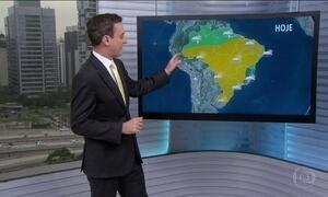 Confira a previsão do tempo para o fim de semana em todo o Brasil