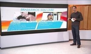 Atletas da natação do Brasil são esperança de medalhas na Olimpíada