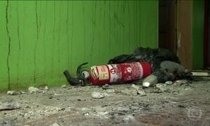 Polícia pede a prisão de dono de clínica que pegou fogo no RS