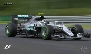 Pilotos da Mercedes vão disputar o GP da Hungria de Fórmula 1 separados por um ponto