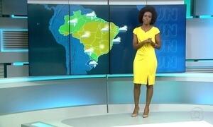 Boa parte do Brasil deve ter tempo firme e forte nesta terça-feira (26)