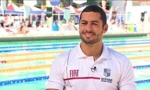Ítalo Manzine é uma das apostas da natação brasileira na Olimpíada