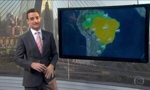 Previsão é de chuva para os extremos Norte e Sul do Brasil