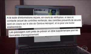 Aeroporto de Genebra, na Suíça, é fechado após denúncia anônima