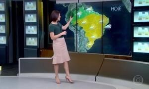 Previsão é de rajadas de vento no Sul e Sudeste