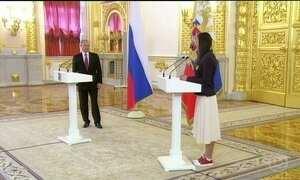 Presidente da Rússia diz que irá desconsiderar medalhas da Olimpíada do Rio