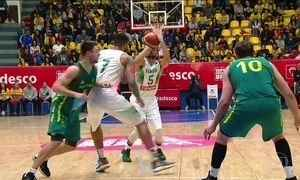 Brasil disputa amistoso de basquete contra a Austrália