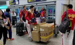 Delegações estrangeiras não param de chegar no Rio