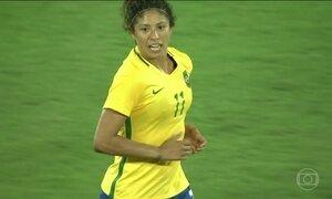 Seleção brasileira de futebol feminino vence a China por 3 a 0