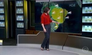 Previsão é de chuva no Rio de Janeiro, São Paulo, Curitiba e Florianópolis