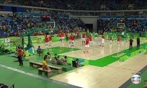 Seleção masculina de basquete enfrenta a Espanha nesta terça (9)