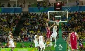 Brasil perde para a Croácia no basquete masculino e para a França no feminino