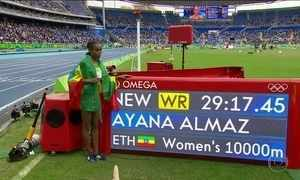 Atletismo começa no Engenhão com recorde mundial