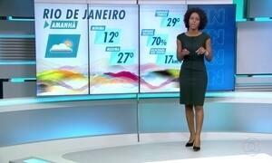 Rio de Janeiro deve ter tempo firme neste sábado (12)