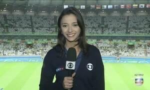 Seleção Feminina de Futebol entra em campo contra a Austrália