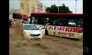 Temporal no leste da China deixa um morto e 23 feridos