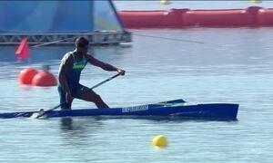 Brasileiro compete a final da canoagem na terça-feira (14)