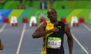Carl Lewis, bicampeão dos 100 metros rasos, analisa o fenômeno Usain Bolt