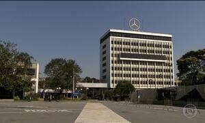 Mercedes suspende a produção em unidade inteira do ABC paulista