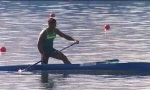 Isaquias Queiroz dá show na canoagem de velocidade