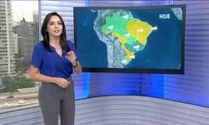 Veja a previsão do tempo para esta quarta-feira (16) em todo o Brasil