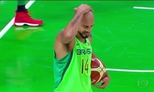 Brasil é eliminado do torneiro olímpico masculino de basquete