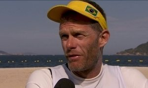Robert Scheidt se despede da Olimpíada sem nenhuma medalha na vela