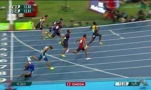 Cambalhota após tropeço desclassifica americano nos 110m com barreira