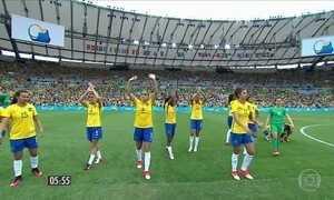 Meninas enfrentam o Canadá na busca pela medalha de bronze