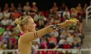 Começam as competições da ginástica rítmica na Olimpíada do Rio