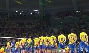 Brasileiros vibram com ouro do vôlei masculino