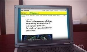 Imprensa mundial faz balanço sobre a Olimpíada