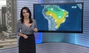 Veja a previsão do tempo para esta quarta-feira (24) em todo o Brasil