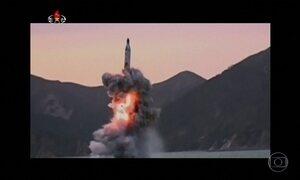 Coreia do Norte volta a assustar o mundo com testes de mísseis