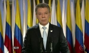 Governo da Colômbia e as Farc anunciam acordo definitivo de paz