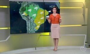 Previsão é de sol e calor em boa parte do Brasil