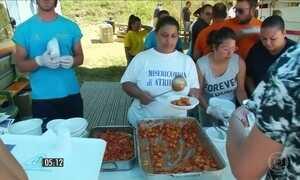Italianos se reúnem para ajudar vítimas do terremoto
