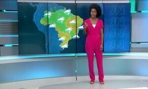 Clima nublado com chuvas deve predominar em boa parte do Brasil nesta quinta-feira (8)