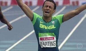 Daniel Martins conquista 2ª medalha de ouro do atletismo paralímpico