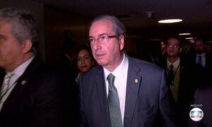 Câmara deve votar cassação de Eduardo Cunha nesta segunda-feira (12)