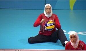 No corpo dos atletas paralímpicos, as marcas de muitas guerras