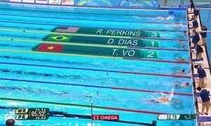Daniel Dias conquista medalha de ouro