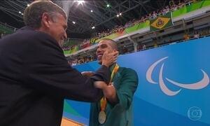 Daniel Dias conquista a 20ª medalha paralímpica com mais um ouro na natação