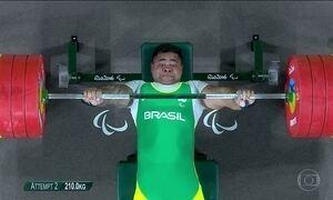 Brasil conquista medalha inédita no halterofilismo paralímpico