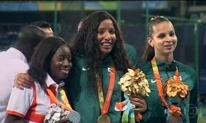 Brasil sobe ao pódio em mais três modalidades na Paralimpíada